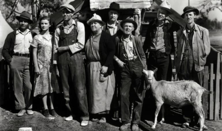 The Grapes of Wrath (1940) by John Ford - The cast