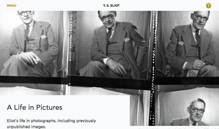 TS Eliot Website