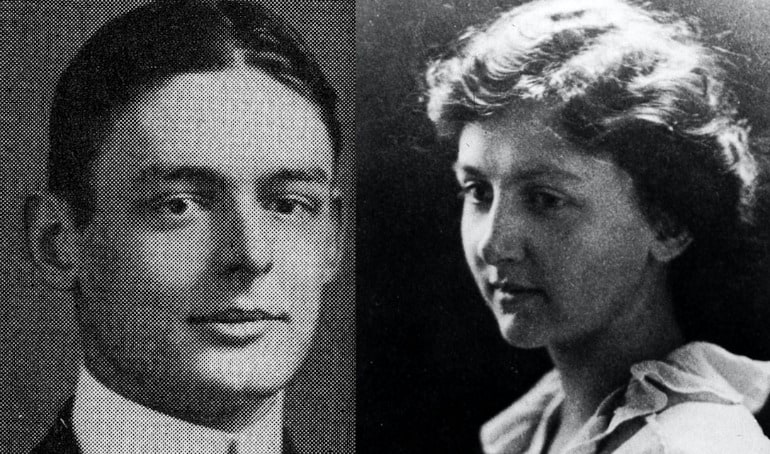 T.S. Eliot and Emily Hale as Harvard undergraduates - T.S. Eliot in Love and Los Angeles: A Photo Essay