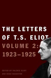 Eliot vol 2 jacket 199x300 - Th Letters of T.S. Eliot