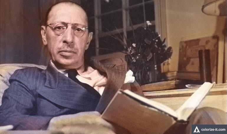 Igor Stravinsky in Color - Igor Stravinsky: On Assessing the Greatness of a Composer
