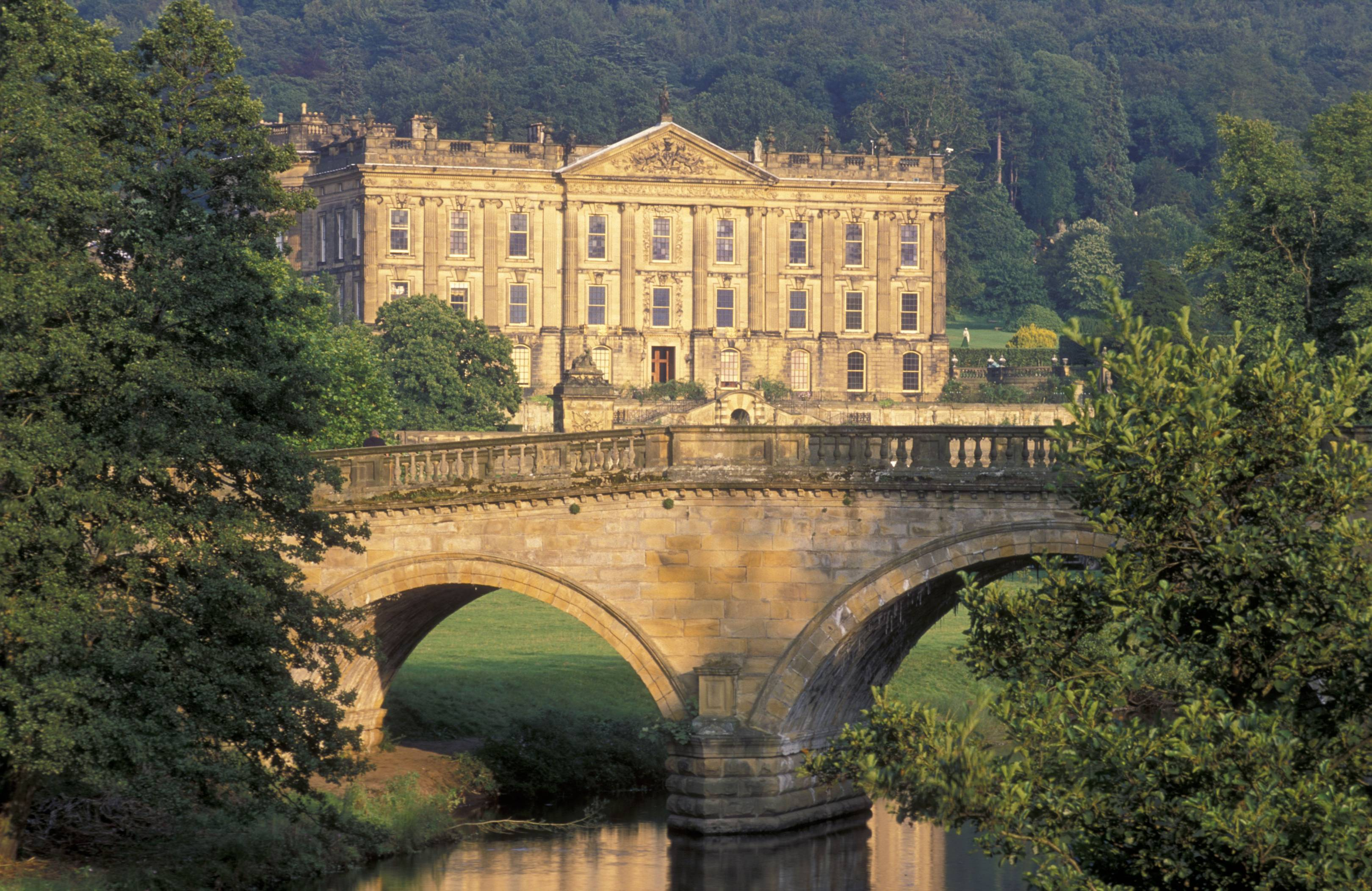1e33535dcf8061211d16f3975db93774 1 - Becoming Pemberley: Did Britain's Largest Mansion Inspire Mr. Darcy's House?